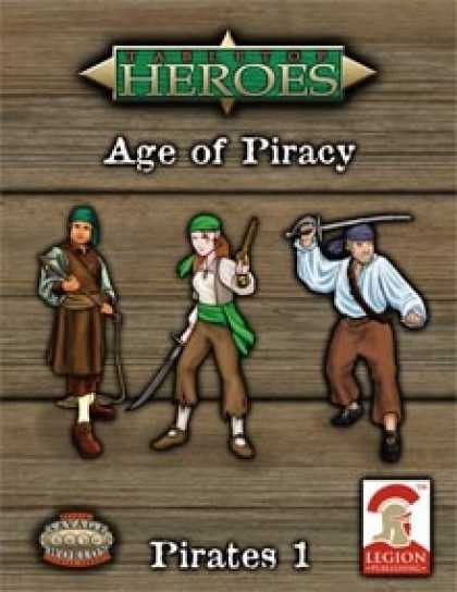 Role Playing Games - Tabletop Heroes: AGE OF PIRACY - Pirates 1