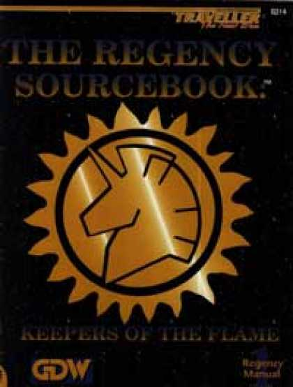Role Playing Games - Regency Sourcebook: Keepers of the Flame