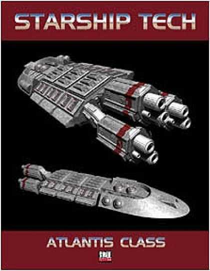 Role Playing Games - Starship Tech #1: Atlantis Class Cruiser