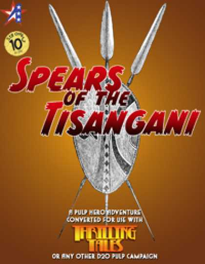 Role Playing Games - THRILLING TALES: Spears of the Tisangani