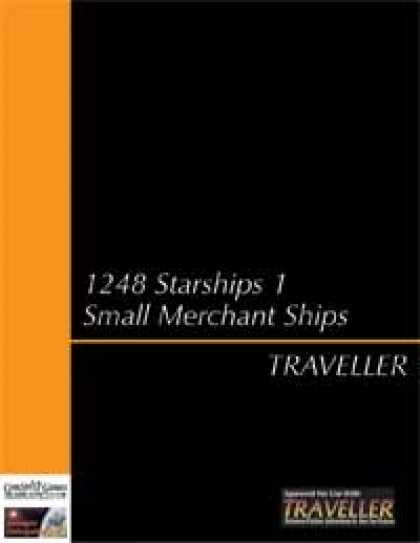 Role Playing Games - Traveller - 1248 Ships 1 Small Merchants