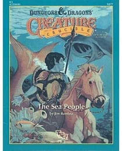 Role Playing Games - PC3 - Creature Crucible: The Sea People