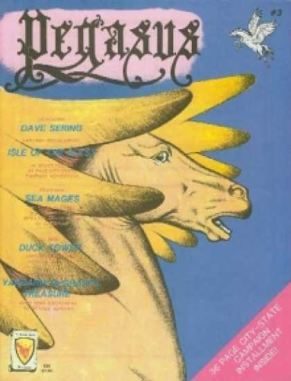 Role Playing Games - Pegasus Magazine III (Aug-Sep 1981)