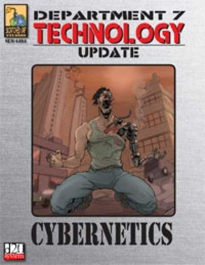 Role Playing Games - Dept. 7 Technology Update: Cybernetics