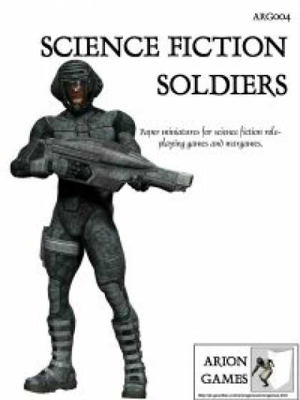 Role Playing Games - Science Fiction Soldiers Set