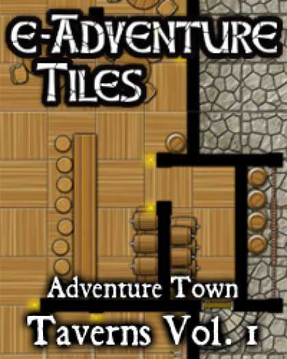 Role Playing Games - e-Adventure Tiles: Adventure Town Taverns Vol. 1