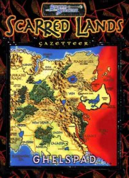 Role Playing Games - Scarred Lands Gazetteer: Ghelspad