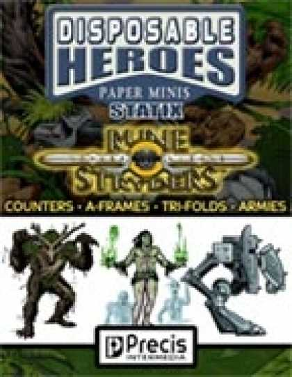 Role Playing Games - Disposable Heroes Rune Stryders Statix