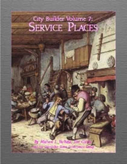 Role Playing Games - City Builder Volume 7: Service Places