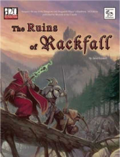 Role Playing Games - MonkeyGod Presents: The Ruins of Rackfall
