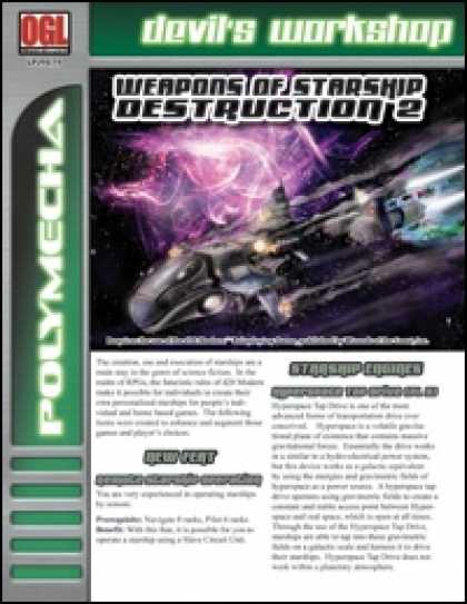 Role Playing Games - Weapons of Starship Destruction 2