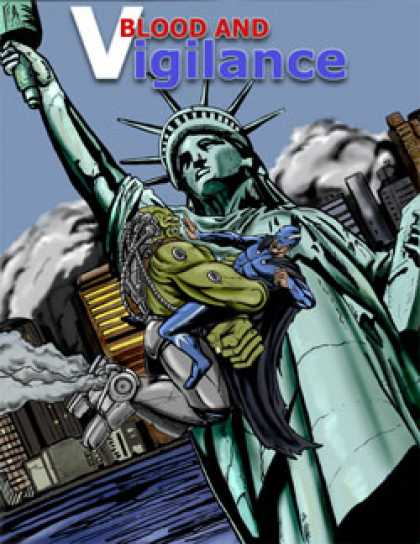 Role Playing Games - Blood and Vigilance: Modern Superhero d20