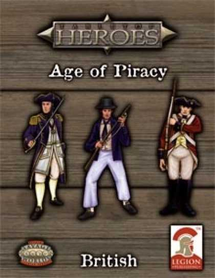 Role Playing Games - Tabletop Heroes: AGE OF PIRACY - British