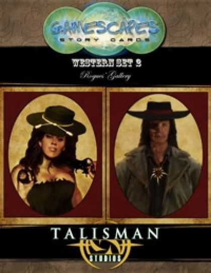 Role Playing Games - Gamescapes: Story Cards, Western Set 2