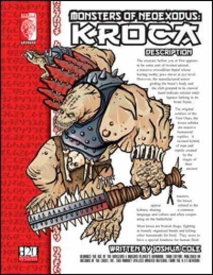 Role Playing Games - Monsters of NeoExodus: Kroca