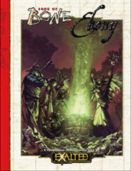 Role Playing Games - Book of Bone and Ebony