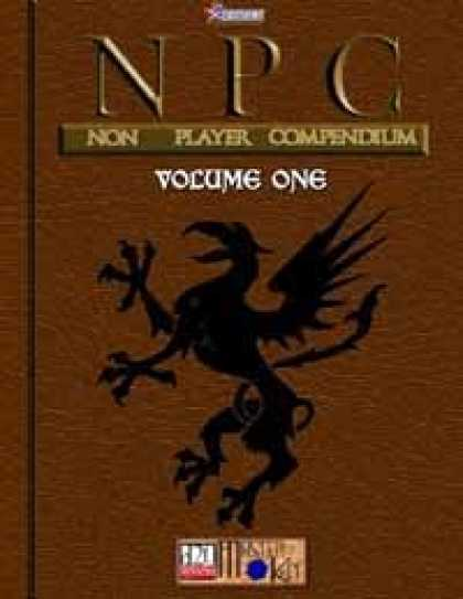 Role Playing Games - NPC (Non Player Compendium): Volume 1