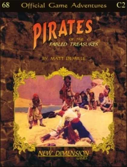 Role Playing Games - Pirates: Fabled Treasures--Adventure pack C2