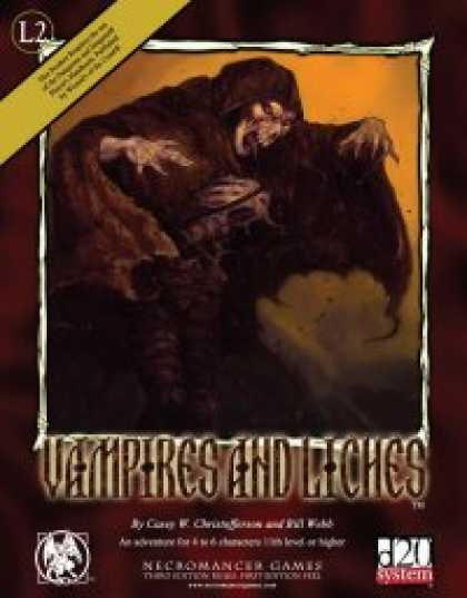 Role Playing Games - Vampires and Liches