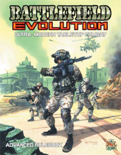 Role Playing Games - Battlefield Evolution Advanced Rulebook