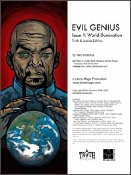 Role Playing Games - Evil Genius #1: World Domination (Truth & Justice)