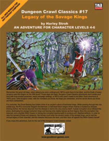 Role Playing Games - Dungeon Crawl Classics #17: Legacy of the Savage Kings