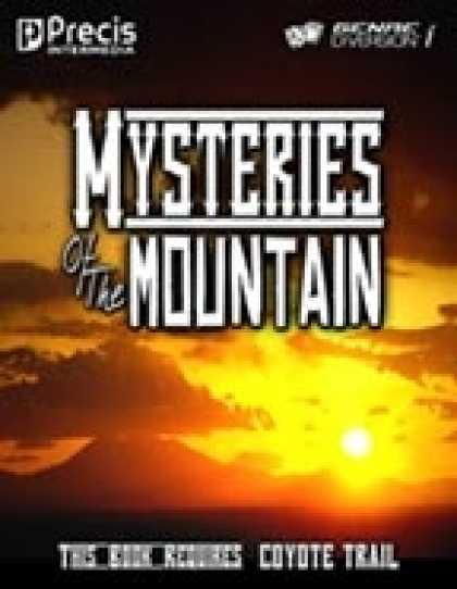 Role Playing Games - Coyote Trail: Mysteries of the Mountain