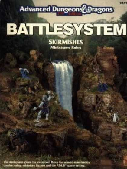 Role Playing Games - 2nd Ed. Battlesystem Skirmishes