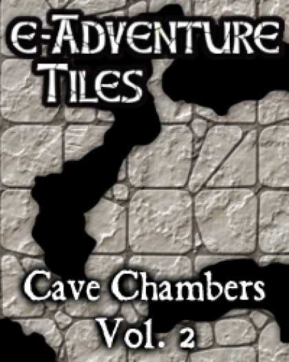 Role Playing Games - e-Adventure Tiles: Cave Chambers Vol. 2
