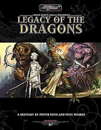 Role Playing Games - Legacy of the Dragons Bestiary