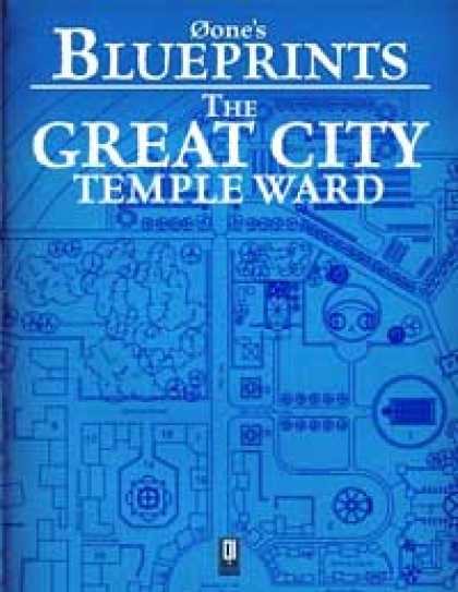 Role Playing Games - 0one's Blueprints: The Great City, Temple Ward