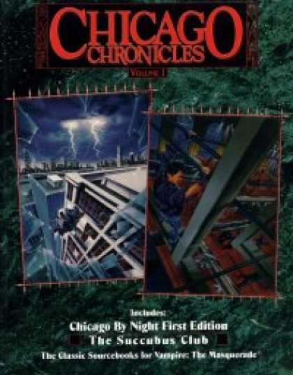 Role Playing Games - Chicago Chronicles Volume 1 (WW2234)