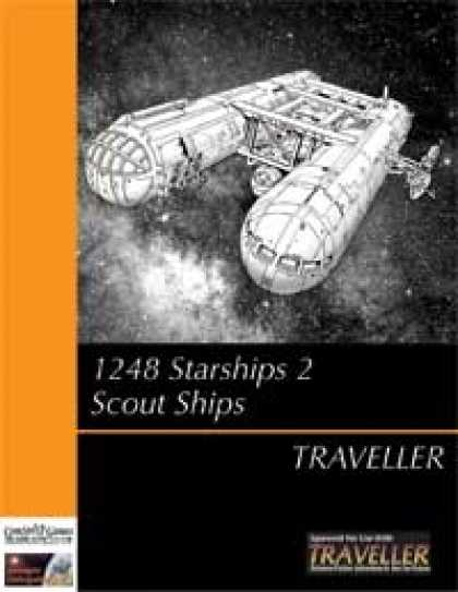 Role Playing Games - Traveller - 1248 Starships Book 2: Scout Ships