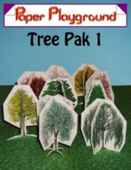 Role Playing Games - Paper Playground - Tree Pak 1