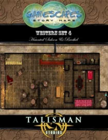 Role Playing Games - Gamescapes: Story Maps, Western Set 4