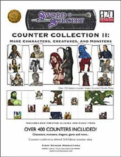 Role Playing Games - Counter Collection II: Revised & Revisited