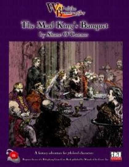 Role Playing Games - War of the Burning Sky #4: The Mad King's Banquet