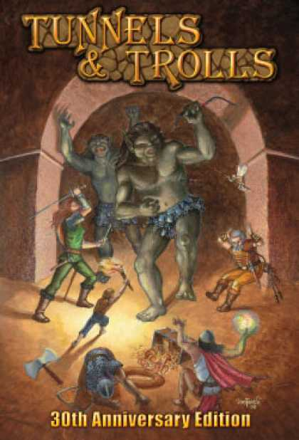 Role Playing Games - Tunnels & Trolls 7th Edition
