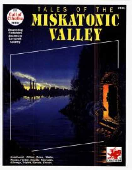 Role Playing Games - Tales of the Miskatonic Valley