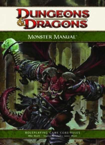 Role Playing Games - 4th Edition Monster Manual
