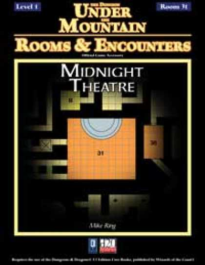 Role Playing Games - Rooms & Encounters: Midnight Theatre