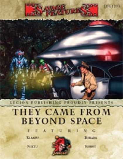 Role Playing Games - Savage Features #03 - They Came From Beyond Space