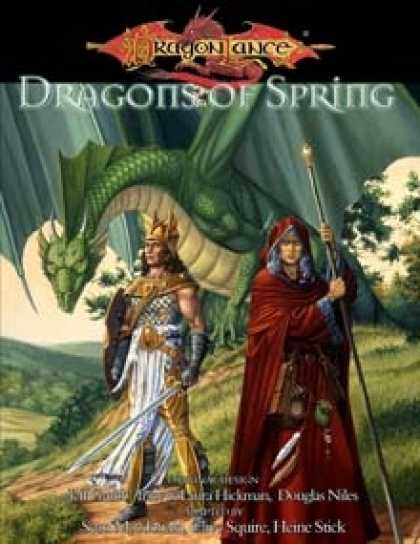 Role Playing Games - Dragons of Spring