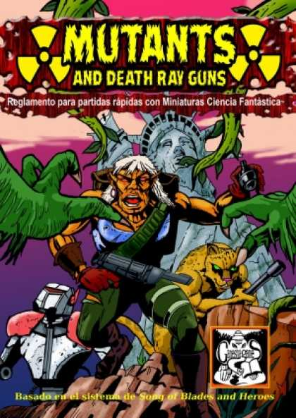 Role Playing Games - Mutants and Death Ray Guns SPANISH VERSION