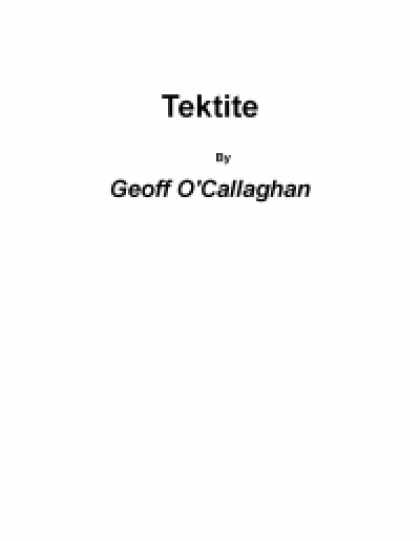Role Playing Games - Tektite