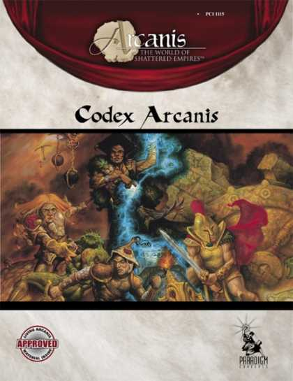 Role Playing Games - Codex Arcanis