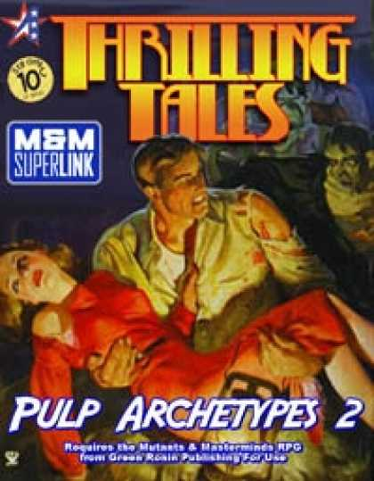 Role Playing Games - THRILLING TALES: Pulp Archetypes 2 (M&M Superlink)