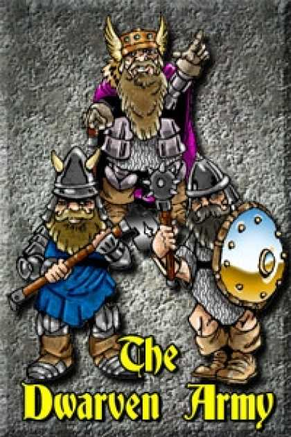 Role Playing Games - Budget Battlefield DWARVEN ARMY