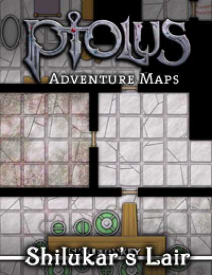 Role Playing Games - Ptolus Adventure Maps: Shilukar's Lair