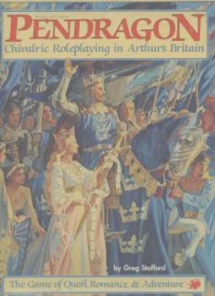Role Playing Games - King Arthur Pendragon: 1st Edition